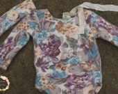 Up-cycled Romper Sitter size 6-9 months, RTS, UK Seller