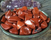 Red Jasper Tumbled Gemstones - Reiki charged, Root Chakra, Grounding, Mother Earth Crystal, Protection, Healing, Health, Vitality, Stamina