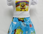 Sponge Bob Theme Outfit  For 18 Inch Doll Like The American Girl