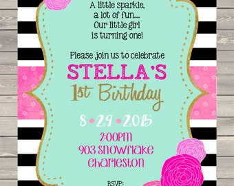 12 pumpkin birthday party invitations with by noteablechic