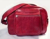 Vintage American Tourister Red Carry on Bag