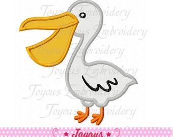 Instant Download Pelican Applique Machine Embroidery Design NO:1783