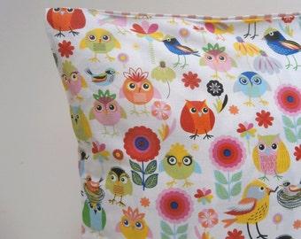 Kawaii birds Pillow cover Cushion cover