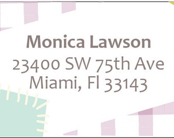 Address Label 5