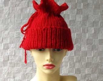 SALE Hat - Slouchy Hat Dread Hat Beanie Scarf Slouch Beanie Tam Teen Hat Womens Hat Knit