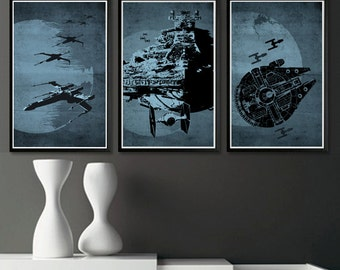 Star Wars Posters - Set of 3 Posters