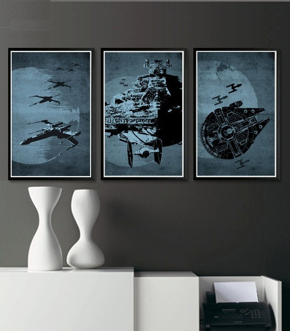 Star Wars Posters Set Of 3 Posters