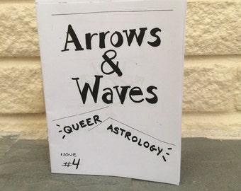 Arrows & Waves - Queer Astrology Zine - #4; Mercury Sign