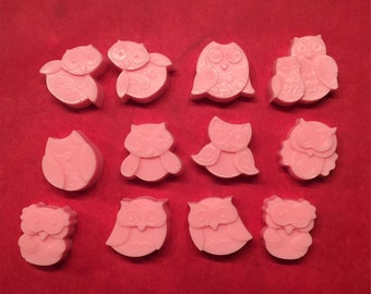48 qty - OWL Soaps on Parade, Soap Favors are a HOOT!