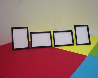 Sets of Four ACEO Special Export Price Miniature Frames 2.5 x 3.5 Aperture 6 mm Sides