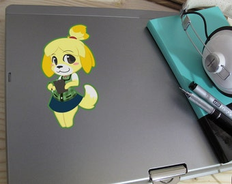 ACNL- Isabelle inspired Vinyl Decal