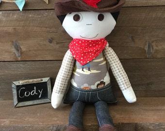 Modern Cloth Doll - Cody