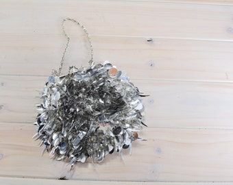 Purse Silver Vintage,prom dress