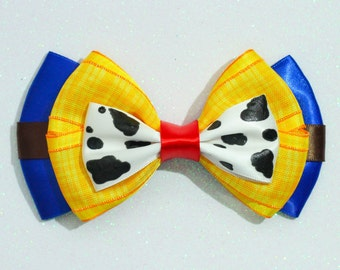 Sheriff Woody Inspired Bow