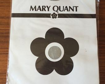 original vintage 70s Mary Quant hold ups, medium stockings