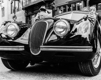 Classic Car fine art Photography, Black and white, wall art, home décor, car photography, vintage, truck, auto, gift, print