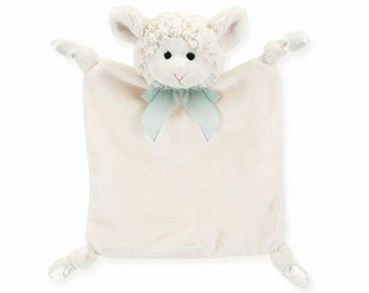 Bearington Baby Personalized Wee Lamby security blankie 197629