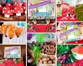 Woodland Birthday Party Package COMPLETE