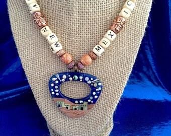 Womens Taos Southwest Pendant Necklace