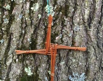 Copper Brigids Cross
