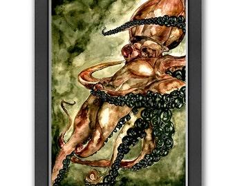 Spinning Octopus