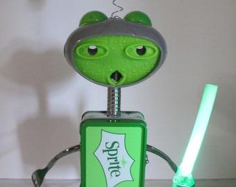 YO~DUH- Found object robot sculpture~assemblage