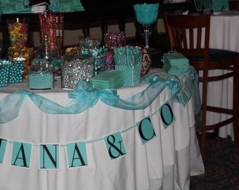Tiffany Inspired Banner
