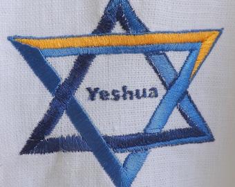 379 Yeshua - Star Shall come out of Ya'aqob (Jacob) 100% Linen Caftan Dance/Worship Garment