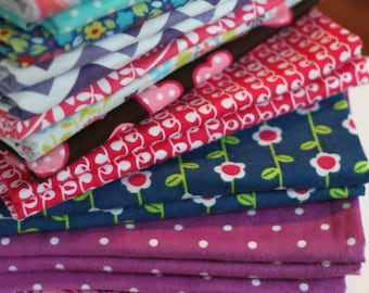 "READY TO SHIP (20% off)!  Baby Girl Blankets-- Flannel Baby Swaddling Blankets  {36""x43""} Eleven Designs Available"