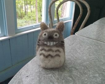 My Neighbor Totoro totoro needle felt 3d animal