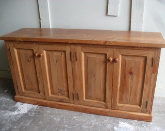 reclaimed wood Buffet custom made in the USA