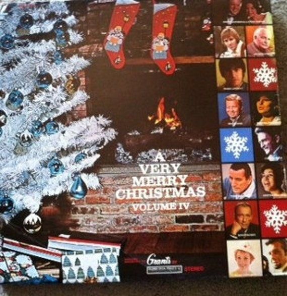 David Jones Personal Collection Record Album - A Very Merry Christmas - Volume IV
