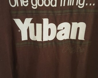 SALE Hanes 1980's Yuban Coffee Tee