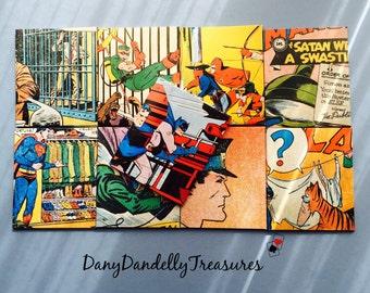 10 Super Heroes Handmade Eenvelopes