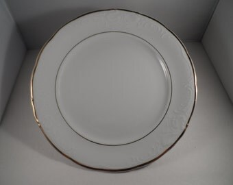 "Royal Kent Poland 10"" Dinner Plate Golden Elegance"