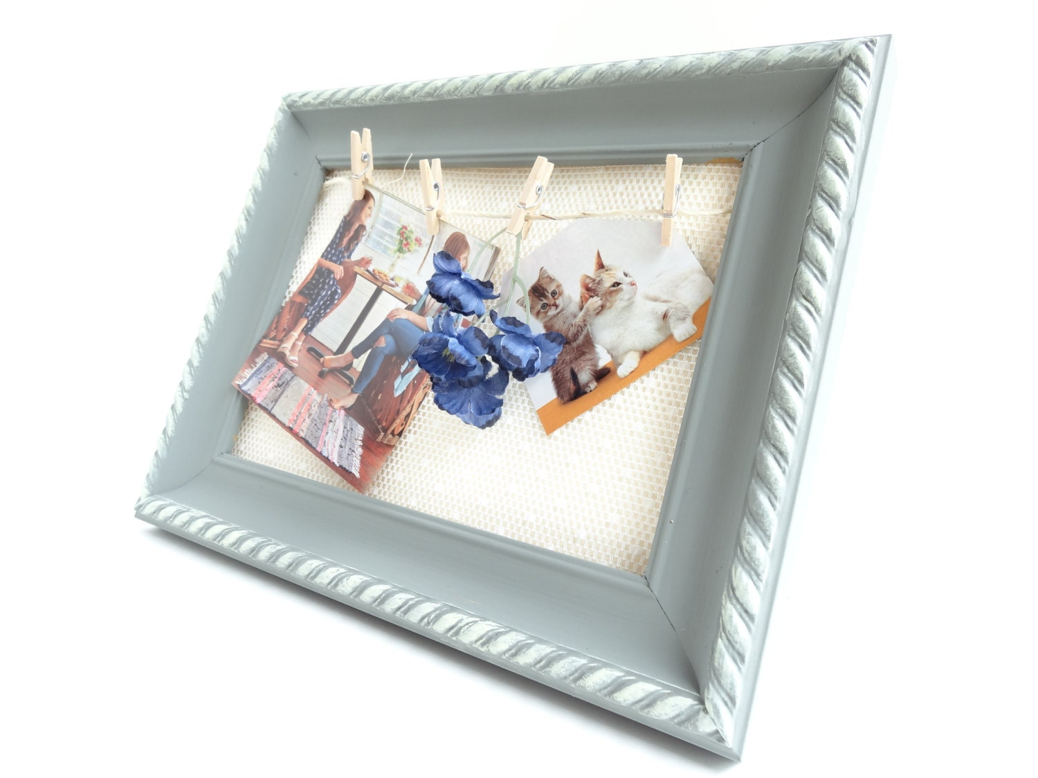Alternative Picture Frame By Veronicasclosett On Etsy