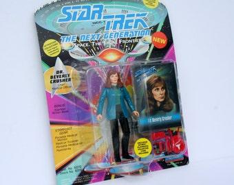 1993 Star Trek Dr Beverly Crusher Figurine NEW in BOX The Next Generation Space The Final Frontier Vintage Star Trek