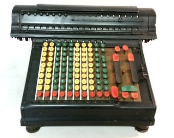 Marchant Electric Adding Machine Calculator 35 Pounder