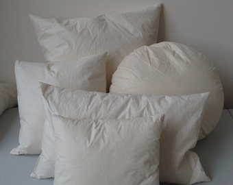 Optional pillow insert