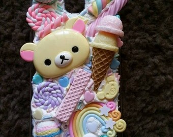 sweet whipped cookie macroon ice cream lolipop candy Samsung galaxy note 3 case