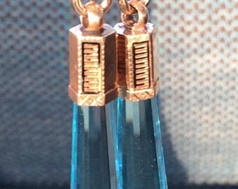 Quartz Earrings on Solid Gold    #CELESTEANDCOGEMS
