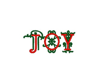 Joy Christmas Machine Embroidery Design, Christmas embroidery design, joy embroidery design, Merry Christmas embroidery, sayings embroidery