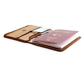 WOL Hari Travel Wallet / Passport Case