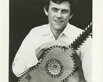 Michael Lorimer guitar player vintage music photo