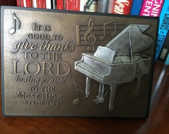 It is good to give thanks to the Lord  picture frame