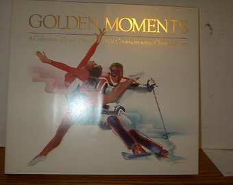 1984 Mint Olympic Commemorative Set with Olympic Stamp Collection