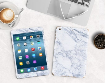 Makrana White Marble Vinyl Skin for the iPad Air 2, iPad mini , Kindle All Models , Surface Pro and RT