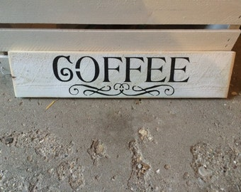 Small coffee sign