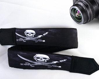Skull Camera Strap. Halloween Camera Strap. Cool Camera Strap.