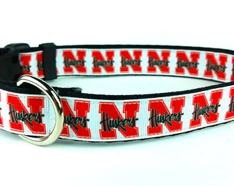 Huskers University of Nebraska Cornhuskers Dog Collar